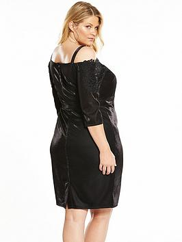 Mistress Shoulder Midi Dress Little Curve Mistress Little Curve Cold Sale Pay With Paypal zhK0uD9