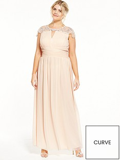 little-mistress-curve-little-mistress-curve-cap-sleeve-maxi-dress-nude