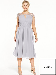 little-mistress-curve-cap-sleeve-midi-dress-grey