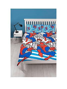 Marvel Ultimate Spiderman Pop Art Double Duvet Cover Set