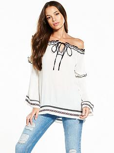 river-island-off-the-shoulder-top