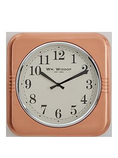 square-metal-case-copper-wall-clock