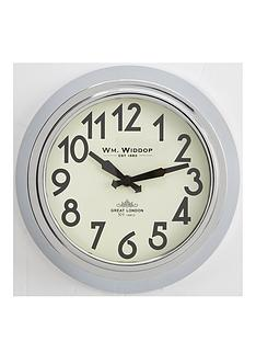 round-metal-case-chrome-wall-clock