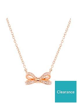 ted-baker-mini-opulent-pave-bow-pendant-rose-gold