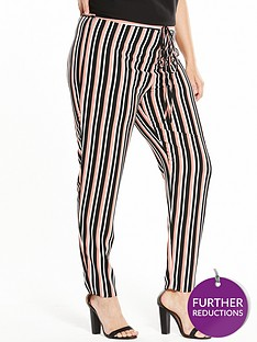 v-by-very-curve-stripe-tapered-leg-trouser
