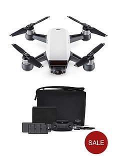 dji-spark-fly-more-combo-quadcopter-drone-uk-alpine-white