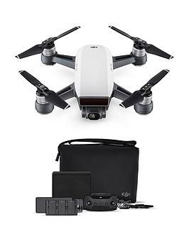 dji-spark-fly-more-combo-quadcopter-drone-uk-alpine-whitenbsp