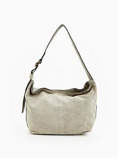warehouse-suede-buckle-slouchy-bag