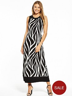 wallis-st-tropez-maxi-dress-monochrome