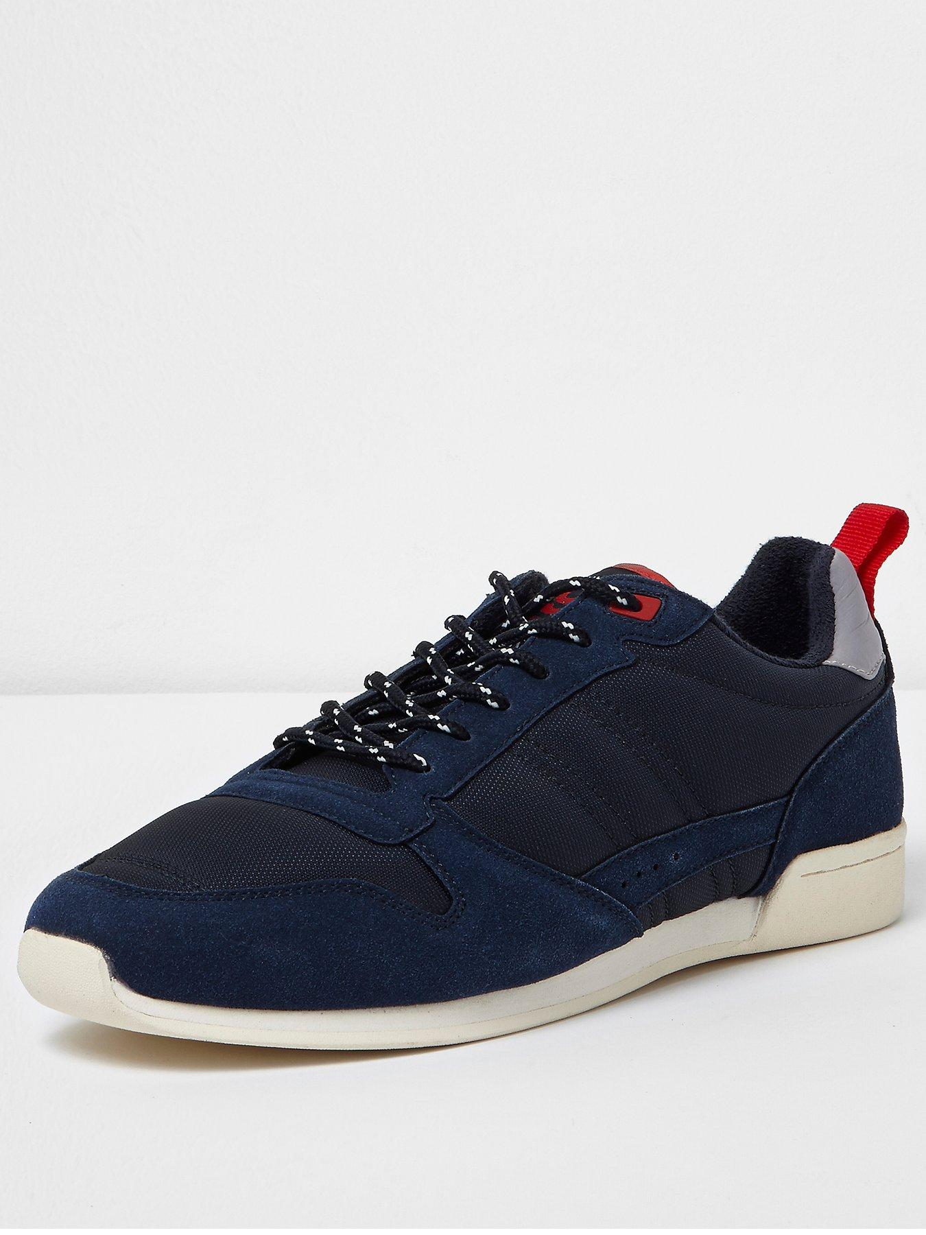 River Island Retro Runner Trainer 1600192848 Men's Shoes River Island Shoes