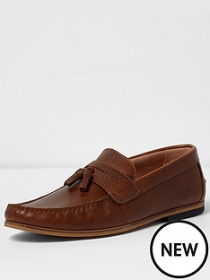 river-island-mens-leather-loafer
