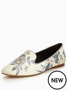 oasis-printed-slipper-shoe