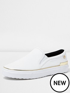 river-island-river-island-white-raisin-slip-on-plimsole