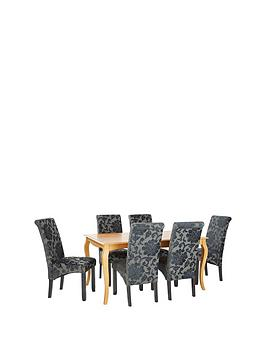 alisha-150-cm-solid-wood-dining-table-6-oxford-chairs