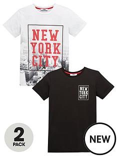 v-by-very-boys-new-york-city-t-shirts-2-pack