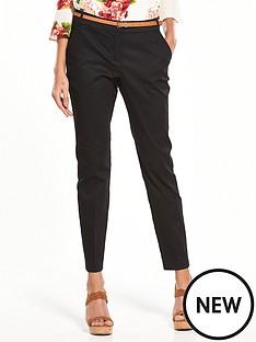 wallis-cotton-cigarette-trouser-black