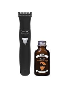 wahl-wahl-rechargeable-trimmer-amp-beard-oil-gift-set