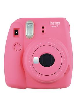 fujifilm-instax-mini-9-instant-camera-with-10-or-30-pack-of-paper--nbspflamingo-pink