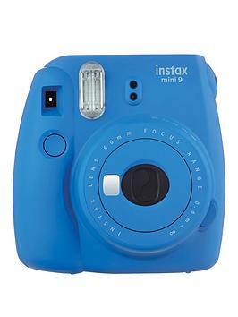 fujifilm-instax-mini-9-instant-camera-with-10-or-30-pack-of-paper--nbspcobalt-blue