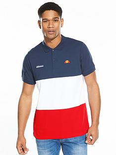 ellesse-pellas-colour-block-polo