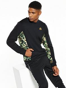 kappa-ross-camo-panel-sweatshirt