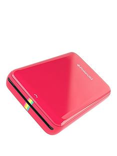 polaroid-zip-instant-printer-red-with-zink-zero-ink-printing-technology-and-optional-50-pack-2x3-premium-zink-paper