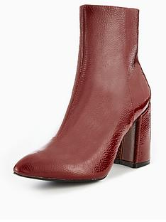 glamorous-block-heel-ankle-boot