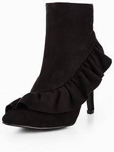 glamorous-frill-ankle-boot