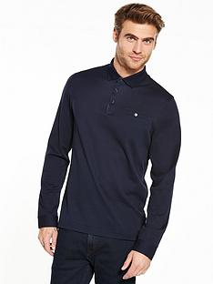 ted-baker-ls-textured-polo-shirt