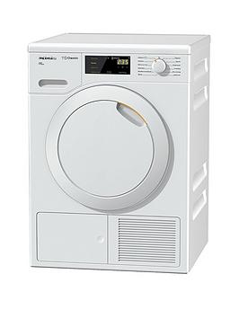 miele tdb120 7kg heat pump tumble dryer with perfect dry. Black Bedroom Furniture Sets. Home Design Ideas