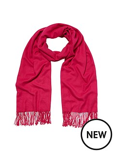river-island-river-island-mid-weight-pink-scarf