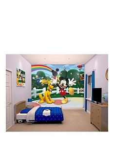 Mickey Mouse Clubhouse Walltastic Mickey Mouse Wall Mural Part 75