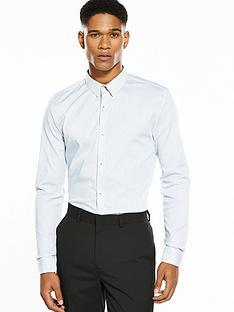 river-island-long-sleeve-muscle-fit-stripe-shirt