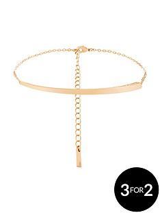 karen-millen-rose-gold-colour-platednbspswarovski-bracelet