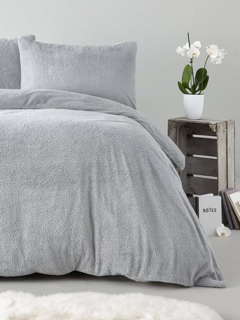 silentnight-super-soft-teddy-fleece-duvet-cover-set