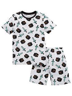 minecraft-boys-shorty-pyjamas