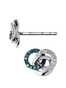 links-of-london-treasured-sterling-silver-white-amp-blue-diamond-earrings