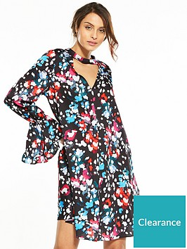 v-by-very-fluted-cuff-tunic
