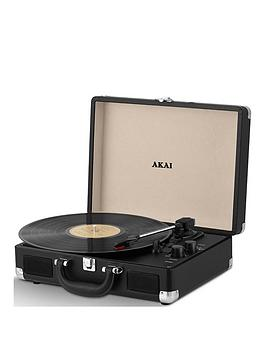 akai-briefcase-style-3-speed-portable-turntable