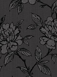 superfresco-bloom-black-wallpaper