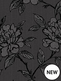 superfresco-bloom-black-wallpaper