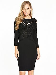 karen-millen-travelling-body-stitch-dress