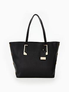 miss-selfridge-stud-side-tote-bag-blacknbsp