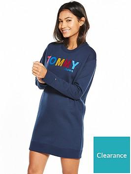 tommy-jeans-tjwnbsplong-sleeve-dress-navy