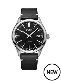 rotary-oxford-black-gloss-dial-black-strap-mens-watch