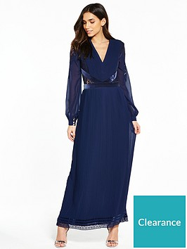 little-mistress-long-sleeve-maxi-dress-navy