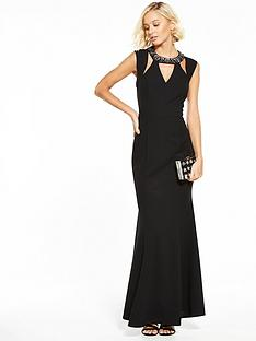 little-mistress-cut-out-maxi-dress-black