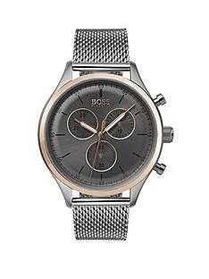 boss-companion-grey-dial-mesh-bracelet-mensnbspwatch