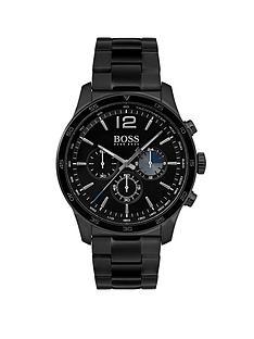 hugo-boss-black-hugo-boss-black-professional-black-dial-black-stainless-steel-bracelet-mens-watch