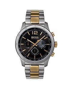 hugo-boss-black-hugo-boss-black-dial-bicolour-stainlesssteel-bracelet-mens-watch